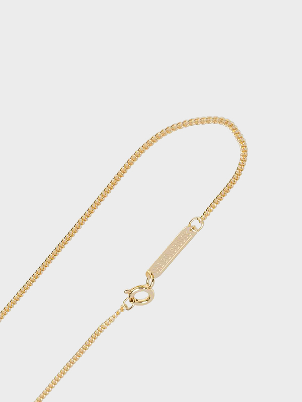 The Boyscouts 40cm Facet Cable Necklace - Gold