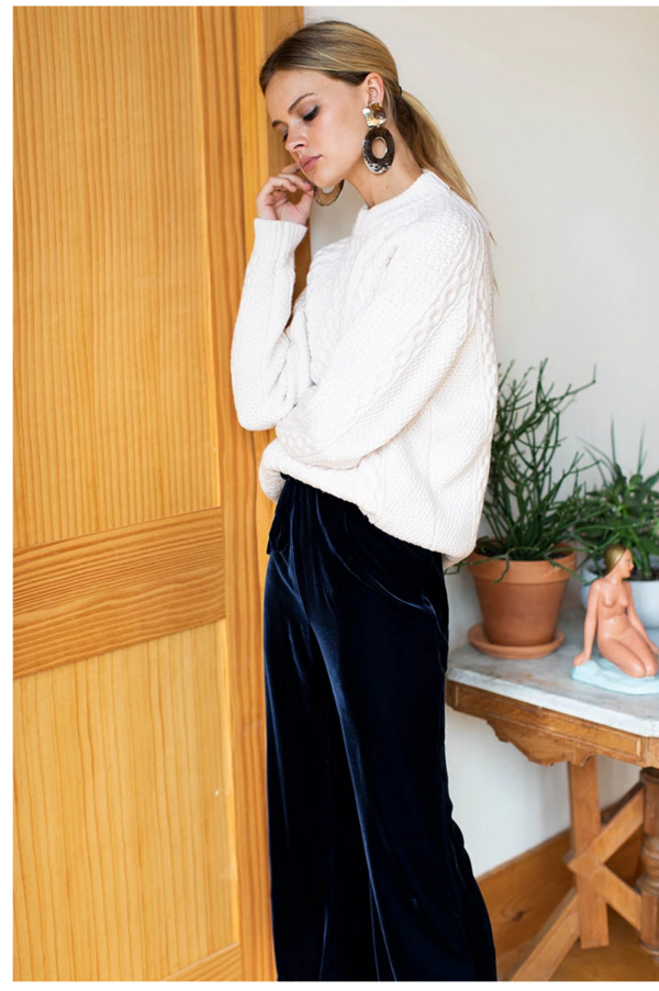Emerson Fry Belle Pant - Midnight Blue