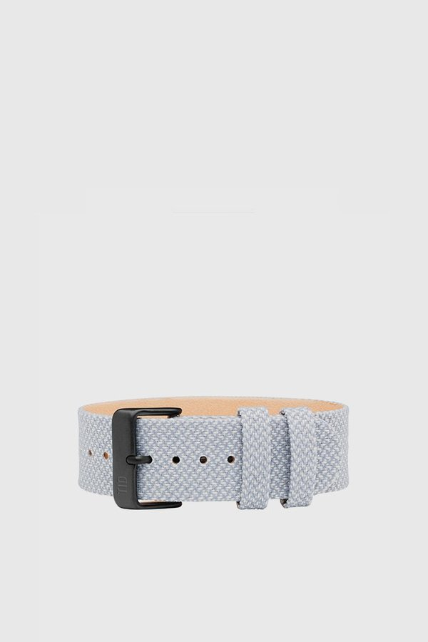 TID Watches No. 3 TR90 Mineral Twain Wristband Watch - Grey