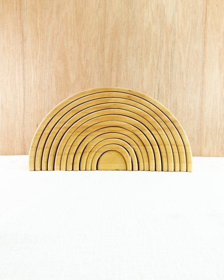 Kids Grimm's Large Stacking Tunnel - Natural