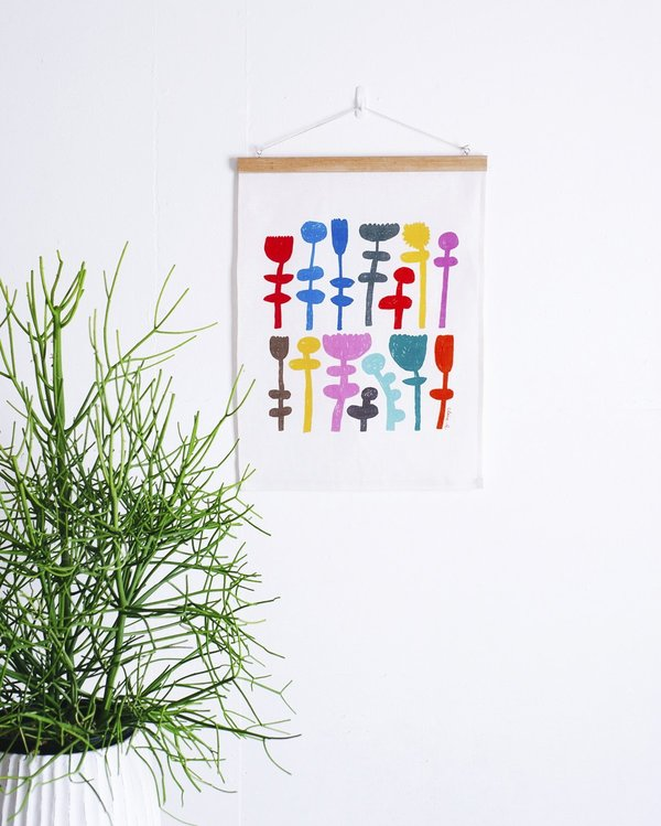 """Claire Ritchie """"Stand Tall"""" Fabric Wall Hanging"""