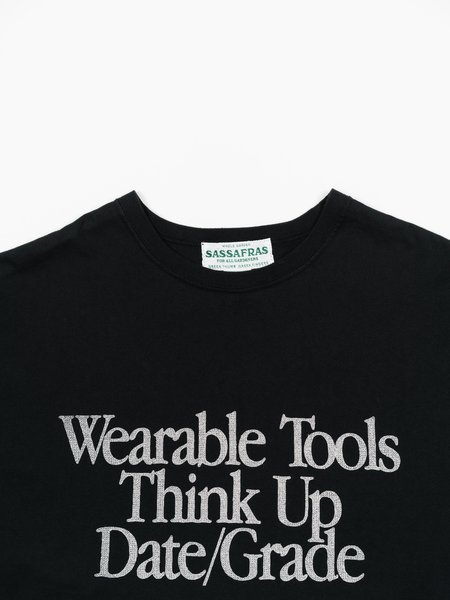 Sassafras Think Up D/G Tee - Black