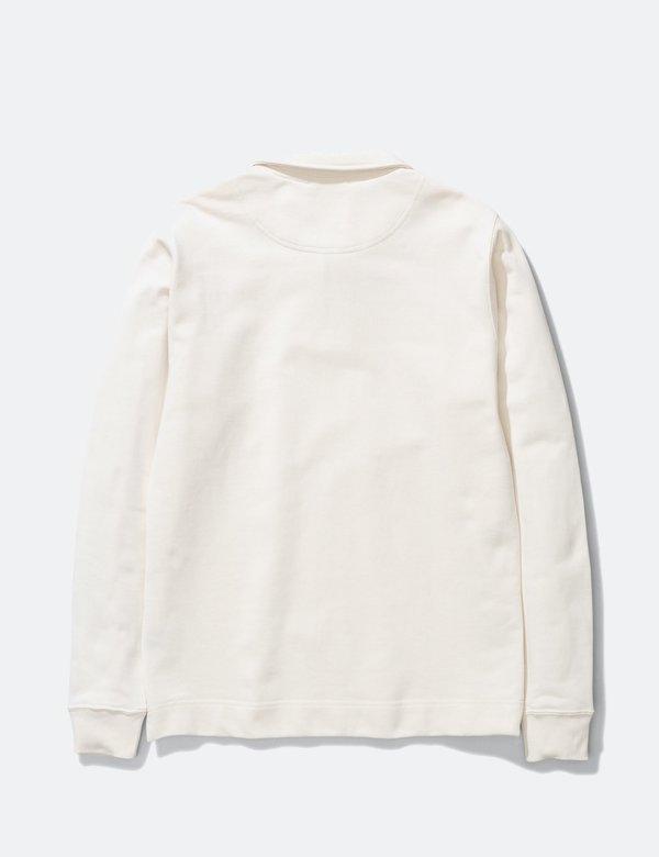 Norse Projects Jorn Half Zip Sweatshirt - Ecru