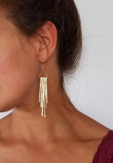 JASPER WILD Qwyn Long Earrings