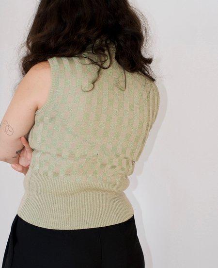 vintage Gianni Versace knit top
