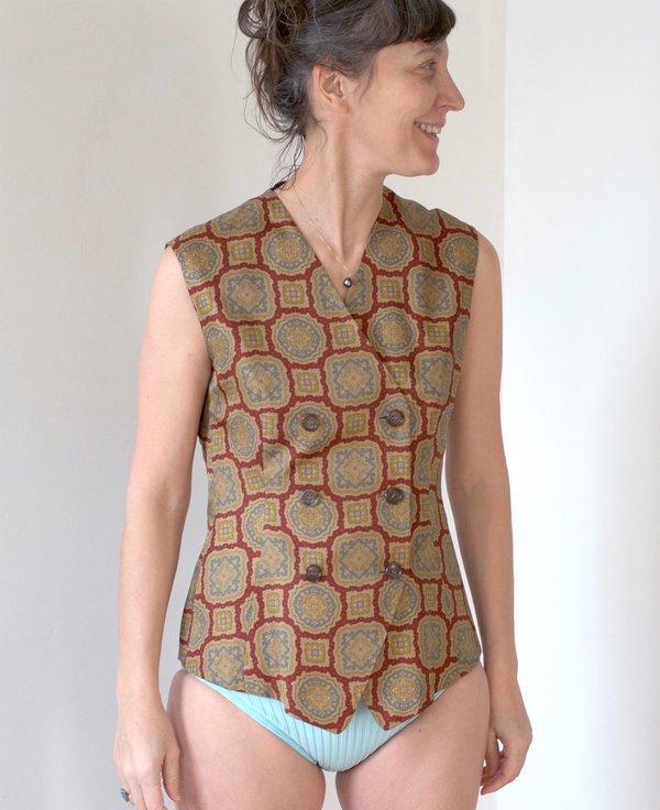 vintage Jil Sander vest