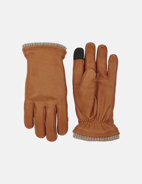 Hestra John Hairsheep Leather Gloves - Cork