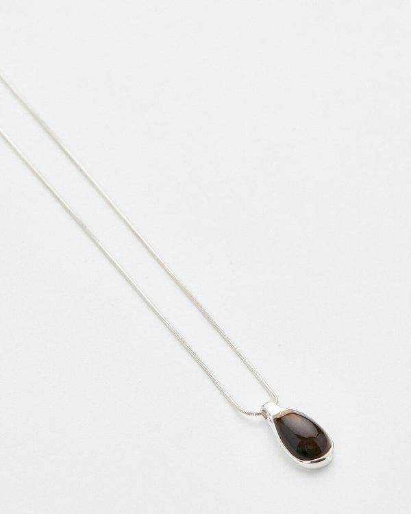 Luz Ortiz Mizner Pendant Necklace - Silver