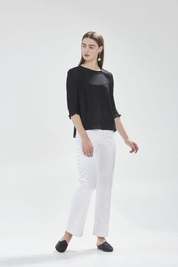 Hesperios Josephine blouse - black