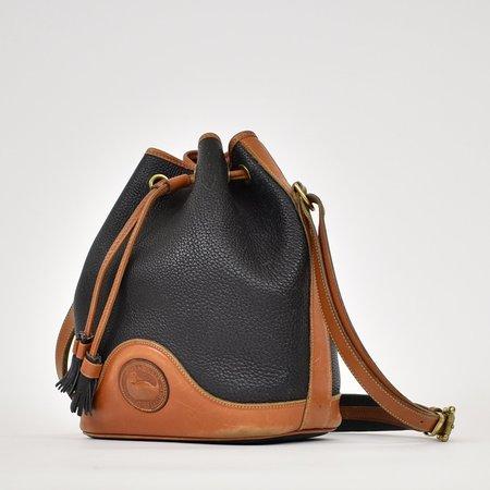 Found Vintage Dooney & Bourke Bucket Bag - Navy