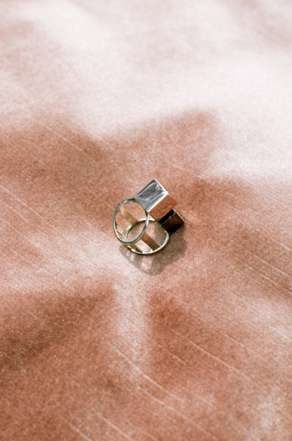Wednesday Jewellery The Cube Ring