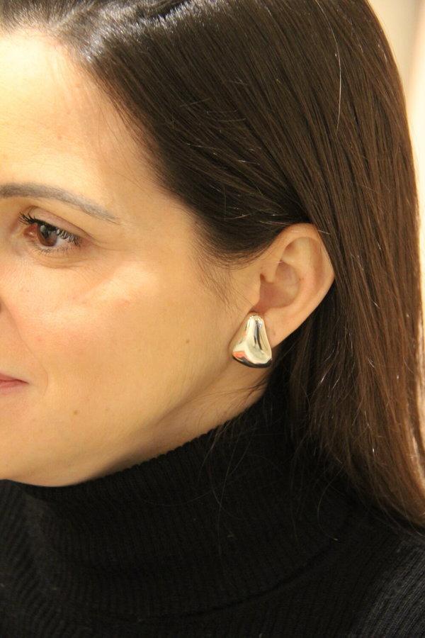 Luz Ortiz Terre Earrings - Silver
