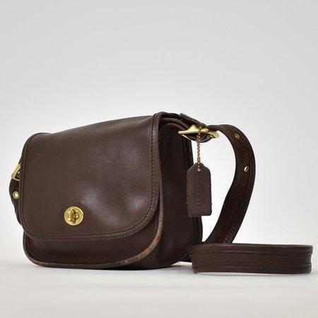 Found Vintage Coach Legacy Trail Bag - Brown