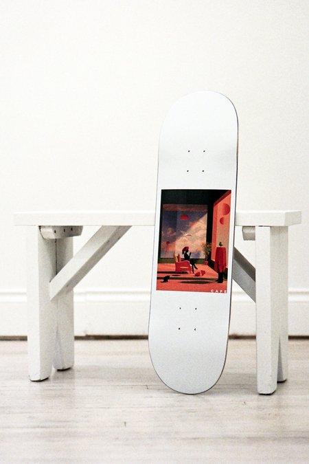 Skateboard Cafe Dawn Deck - White