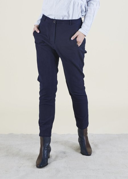 H+ Hannoh Wessel Pamira Cotton Pant - Ink