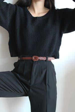 First Rite Crop Pullover