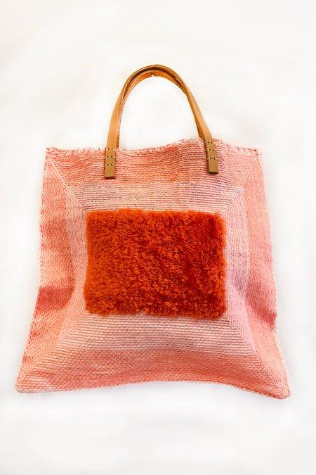 En Shallah Square Bag - Pink
