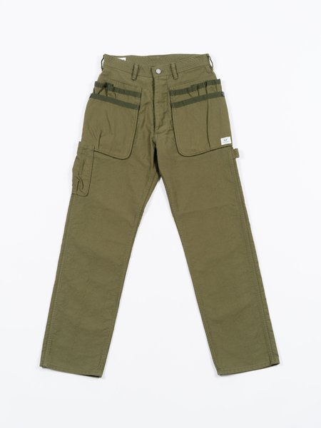 Sassafras Whole Hole Pants - Olive Cordlane