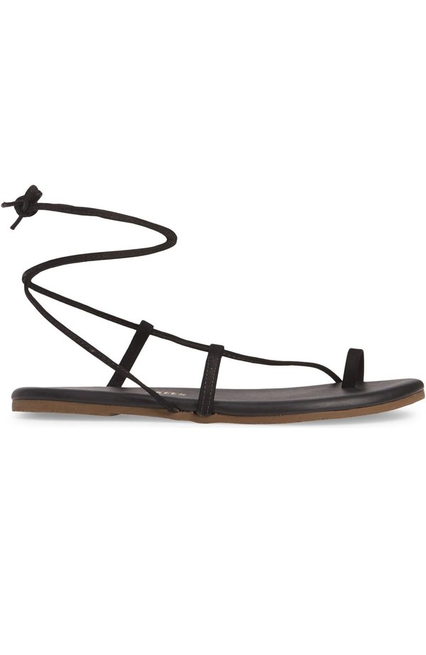 TKEES Jo Leather Strappy Sandals