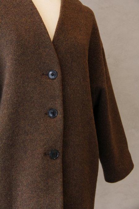Samuji Carin Wool Coat - Brown