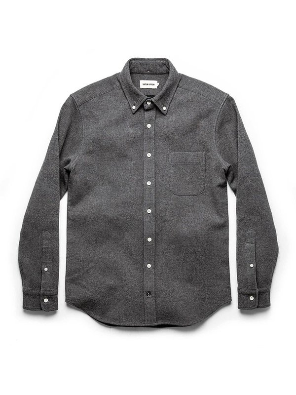 Taylor Stitch The Double Cloth Jack Shirt - Charcoal