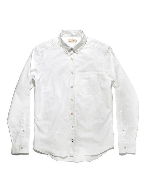 Taylor Stitch The Everyday Oxford Jack Shirt - White | Garmentory