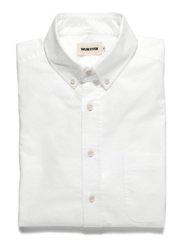 Taylor Stitch The Everyday Oxford Jack Shirt - White