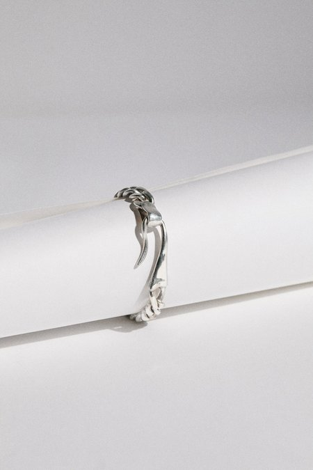 Hernán Herdez Sterling ID Bracelet - Sterling Silver