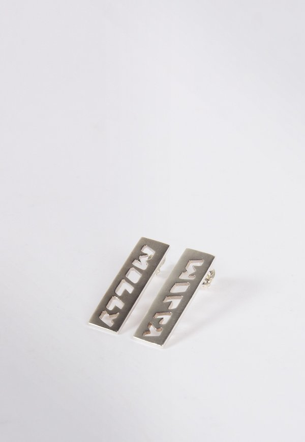 27mollys Molly Bar Earrings - silver