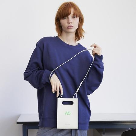 nana-nana Neon Leather A5 Bag