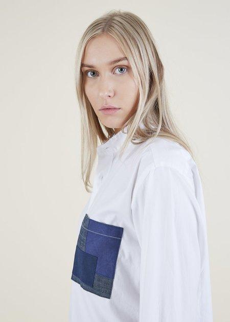 Atelier & Repairs Residency Pehoe Long Sleeve Shirt - White