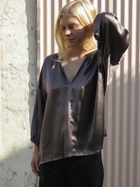 Erica Tanov Local Production patricia blouse - mercury