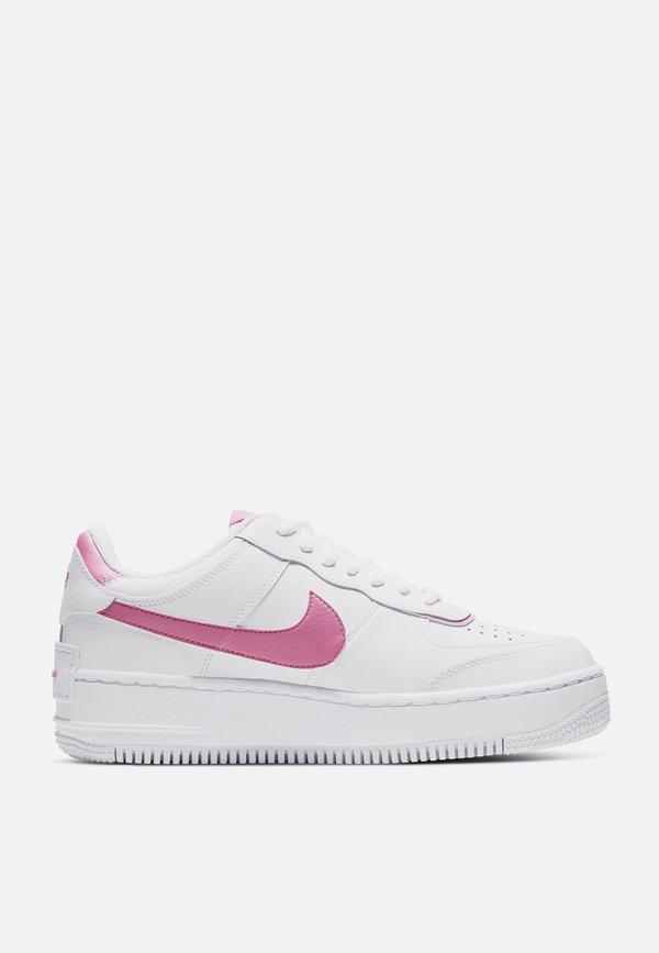 Nike Air Force 1 Shadow White Magic Flamingo Garmentory Nike air force 1 (gs) big kids' shoe. nike air force 1 shadow white magic flamingo on garmentory
