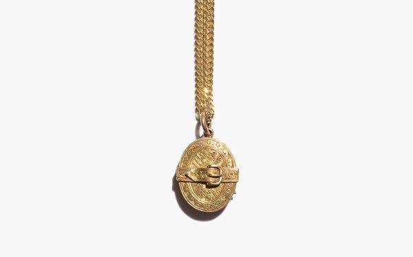 Kindred Black Cercel Locket - 14K GOLD