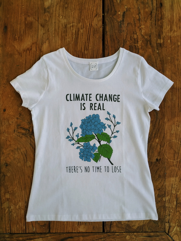 SIZ CLIMATE CHANGE T-shirt - White