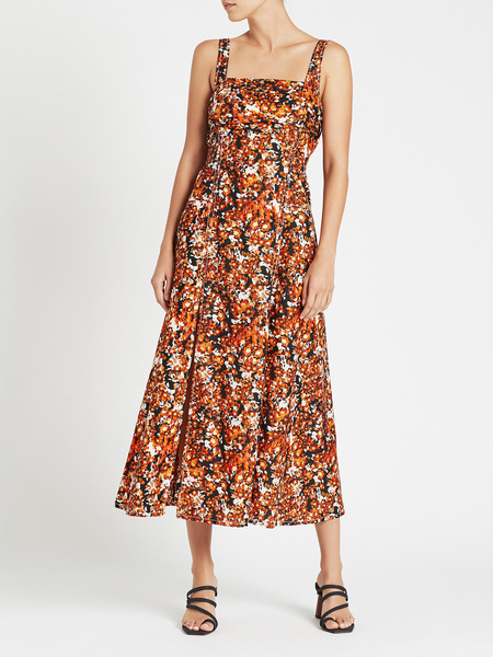 Camilla and Marc Asterid Midi Dress - Asterid Print