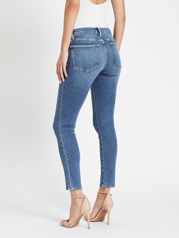 FRAME Denim Le High Skinny Jean - Republic Rips