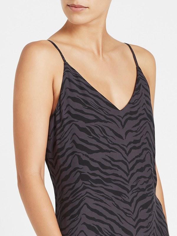 Rails Yara Dress - Charcoal Tiger