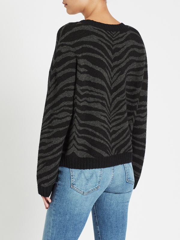 Rails Chance Sweater - Charcoal Tiger