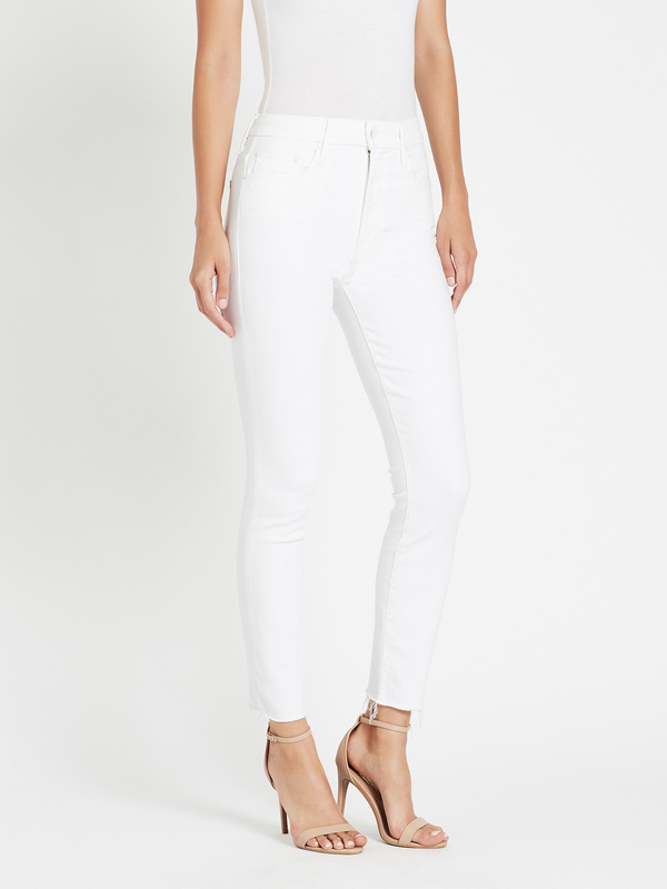 Mother Denim High Waisted Looker Ankle Fray Jean - Fairest of Them All