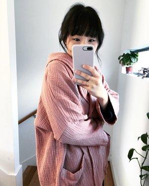 APRIL MEETS OCTOBER September Robe - Dusty Pink