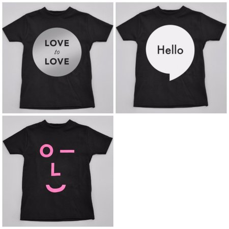 KIDS Norfolk Bundle Size 4/5 TEE - BLACK