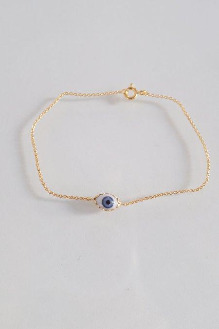 Grainne Morton Eye Bracelet - Gold Plated