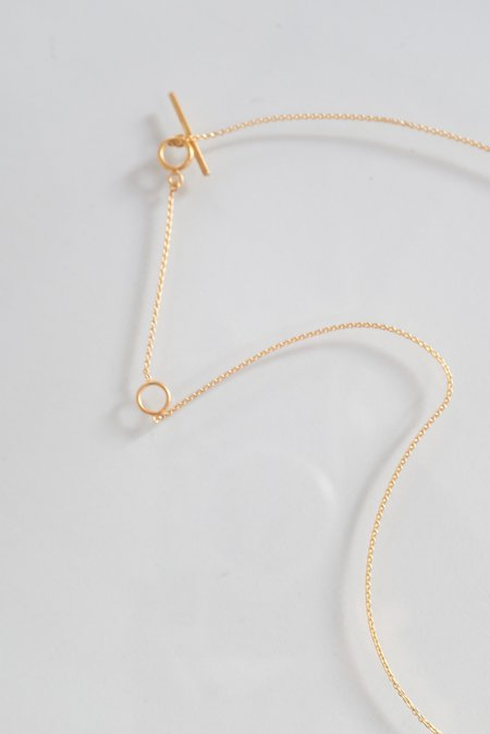 Grainne Morton Eye Necklace - Gold Plated Silver