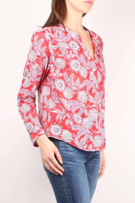 Xirena Jesse Shirt - Sun Red