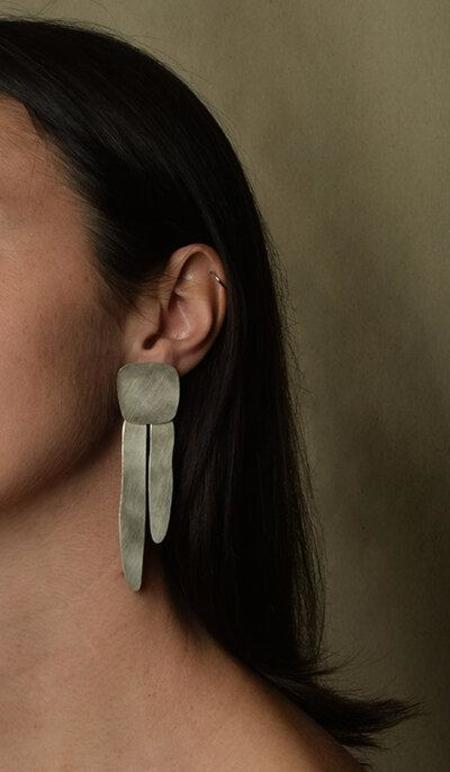 Fripp Leggy Drop earrings - SILVER