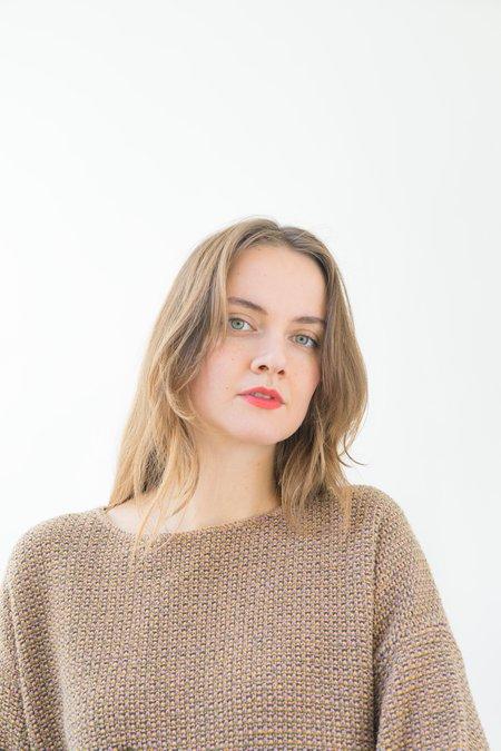 Backtalk PDX Vintage Knit Sweater - Multi-colored