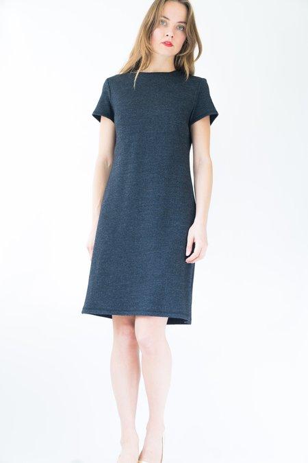 Backtalk PDX Vintage Shift Dress - Heather Gray