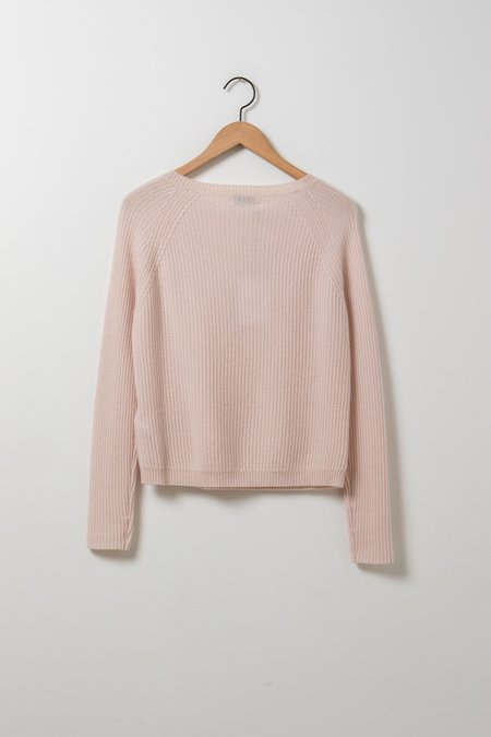 Allude Sweater - Pale Pink