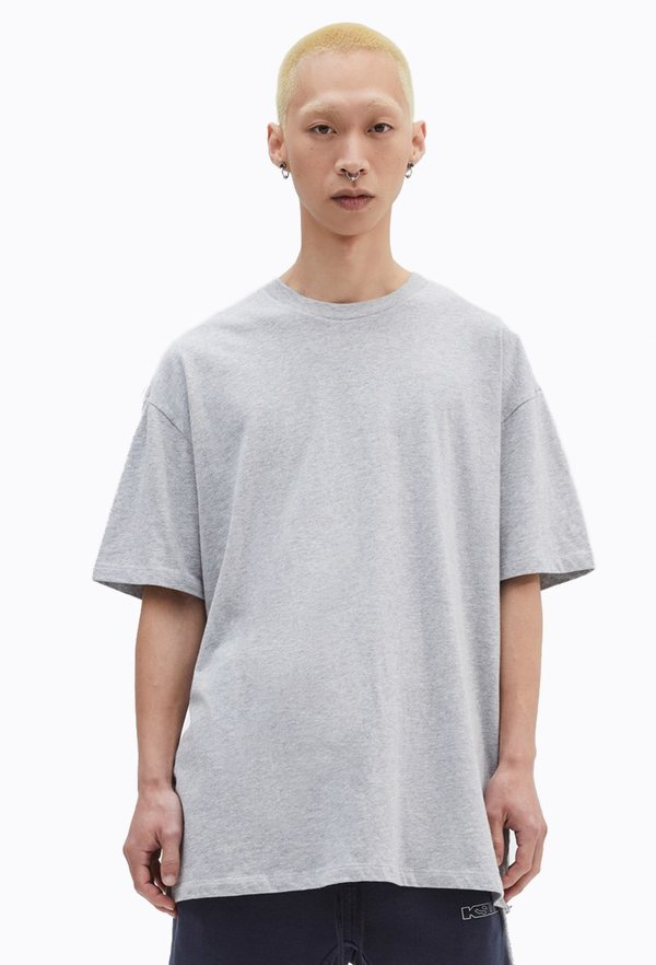 Ksubi T-Box Biggie Short Sleeve Tee - Grey Marl